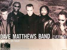 Dave Matthews Band 2001 Everyday Original Tour Promo Poster