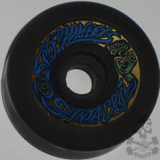 SANTA CRUZ Bullet 66mm 92a Skateboard Wheels BLACK FS - 80s Old School  NOS