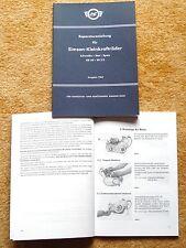Reparaturanleitung Motor Simson Schwalbe Spatz Star KR50 SR2E  Zweitaktmotoren