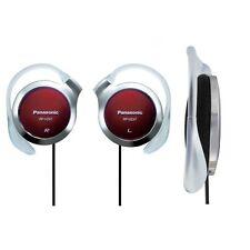 Panasonic RP-HZ47-R Red Ear-Clip Headphones 9.9mm Ultra Slim RPHZ47 /GENUINE