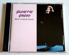 JULIETTE GRECO Best Collection JAPAN CD 1994 FNCP-30369 Mail Order Only L/E