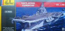 HELLER® 81070 French Aircraft Carrier Clemenceau in 1:400