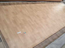 0394 PVC Belag 132x400 Boden Bodenbelag Rest Cv Buche schiffsboden design Posten