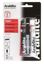 Araldite Rapido Tubo 2x15 ml Tubi Resistente Ceramica Legno Vetro In Metallo