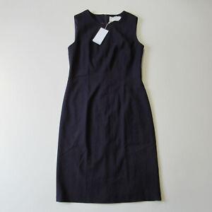 NWT BOSS Hugo Boss Donalea in Dark Purple Stretch Wool Sheath Dress 6 $545