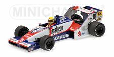 Minichamps F1 Toleman Hart TG183B Ayrton Senna 1/43 GP Debut Brazilian GP 1984