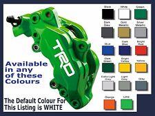 TOYOTA TRD Premium Brake Caliper Decals Stickers x 6