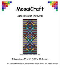 """Mosaicraft Pixel Craft Art Mosaïque Kit """"Aztec Blanket 'pixelhobby"""