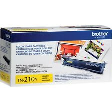 Brother TN-210Y OEM Yellow Toner Cartridge NEW