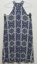 George  size 10 sleeveless knee lenght dress blue mix new tagged