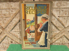 Old Baking Recipe Cookbook Early 1900s Calumet Baking Powder Reliable Recipes