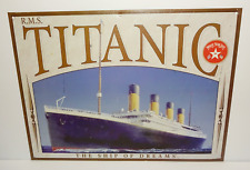 RMS Titanic The Ship Of Dreams Metal Sign Wall Plaque Hanging