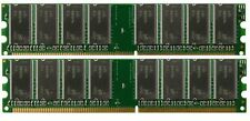 Low Density 2GB KIT 2x1GB PC3200 DDR400 Dual Channel 184pin DIMM Memory DDR1
