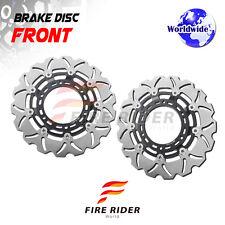 FRW 2x Front Brake Disc Rotor For Aprilia ETV 1000 Capo Nord 01-07 03 04 05 06