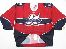 KALAMAZOO WINGS ECHL AUTHENTIC PRO RED CCM 6700 HOCKEY JERSEY SIZE 58