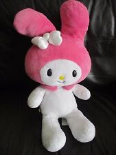 BUILD A BEAR - HELLO KITTY - MY MELODY bunny rabbit soft toy plush VGC