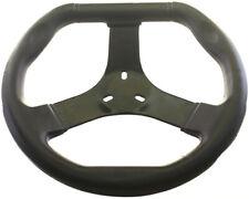 Corporate Flat Top Black Steering Wheel Go Kart Karting Race Racing