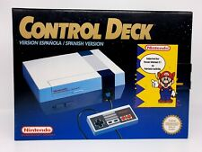 Nintendo NES Control Deck [ESP] Boxed Complete ►Collectors◄ TOP