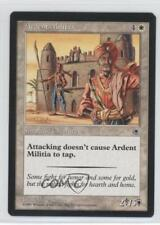 1997 Magic: The Gathering - Portal Starter Set Base #NoN Ardent Militia Card 3y4