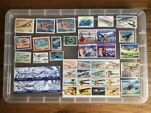 Thematic Stamps planes (ww499)