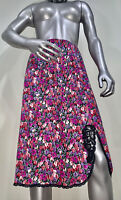 Vintage Vanity Fair Large Floral Nylon Antron III Half Secretary Slip Skirt USA