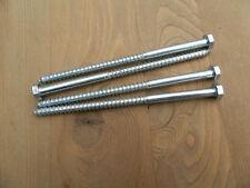 25 Holzschrauben 6 x 120 Teilgewinde Schlüsselschrauben sechskant