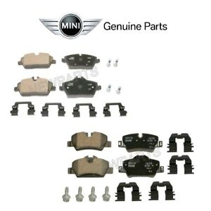 For Mini F56 F55 F57 Cooper Pair Set of Front & Rear Disc Brake Pads Genuine