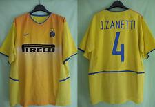 Maillot Inter Milan Pirelli Javier Zanetti Nike Vintage Oldschool Ancien - XL