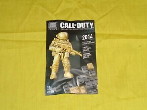 MEGABLOKS Call of Duty 2014 Exclusive Ghosts Figure Free Shipping!