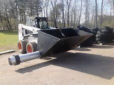 Silt sock auger bucket, skid steer, bark blower, mulch, big money maker!! Cheap!