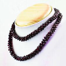 345.00 Carats NATURAL Unheated GARNET Gemstone BEADS Necklace