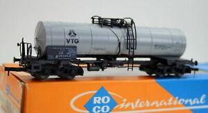 "Roco H0 4356 A 4-achsiger Kesselwagen ""VTG"" 076 5 501-0 der DB/KKK/NEM OVP *5423"