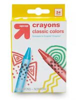 6 boxes of Target's Up & Up Brand Crayons 24-Pack Classic Colors per box