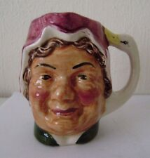 Artone Toby England Miniature Jug Vtg Mug Made Hand Painted Vintage Farmers Wife