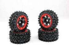 Front and Rear wheel Nail tire complete set All-terrian Fit 1/5 HPI Baja 5B