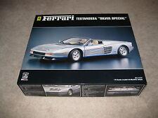 "Pocher Ferrari Testarossa K61 ""Silver Special""  model kit 1:8 scale -Unbuit"