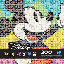 CEACO DISNEY EMOJI JIGSAW PUZZLE MICKEY MOUSE 300 PCS EMOTICONS #2231-1