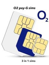 50x O2 Pay As You Go  New Wholesale Joblot Sims.