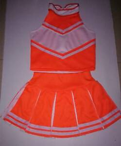 Children/Kids Cheerleader-Dress/Uniform/Costume/Outfit Halloween Girls Size 2-14