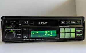 ///Alpine 7290LS Old School Retro Tape Pullout FM/AM Car Radio + Optional BT
