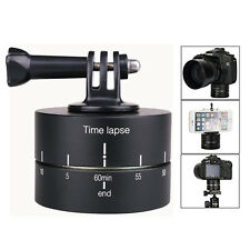 360 Timelapse 1 Hour Rotating Panning Head Time Lapse Egg Timer For GoPro Camera