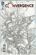 CONVERGENCE #5 (OF 8) 1:100 CYBORG SKETCH VARIANT COVER DC NEW 52 NM
