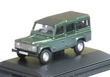 DEF001 Land Rover Defender, Van, grün, Oxford 1:76, NEU &