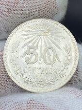 1945 Mexico 50 Centavos BU
