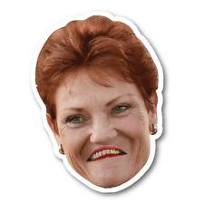 Pauline Sticker Aussie Car Flag 4x4 Funny Ute