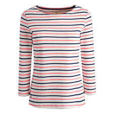 Joules Cotton Striped Plus Size T-Shirts for Women