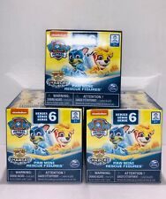 Paw Patrol Series 6 Mini Figures, Blind Box, Lot Of 3, New, Free Shipping.