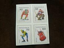 TANZANIE, 1994 LILLEHAMMER Jeux Olympiques d'hiver, SPORT, neuf sans charnière