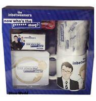 The Inbetweeners Gift Set Ceramic Mug Coaster & Tissue With Tea Bags & Jam Boxed