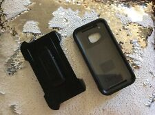 Brand New!! Otterbox Defender Case For HTC One M9 - With Holster belt Clip